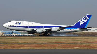 JA8966 - Boeing 747-481D - All Nippon Airways (ANA)