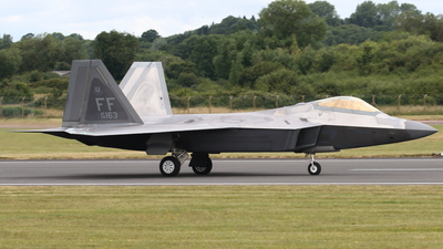 08-4163 - Lockheed Martin F-22A Raptor - United States - US Air Force (USAF)