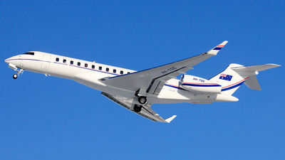 VH-TGG - Bombardier BD-700-2A12 Global 7500  - Private