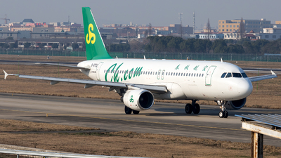 A picture of B6752 - Airbus A320214 - Spring Airlines - © XPHNGB