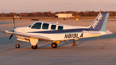 N819LA - Beechcraft A36 Bonanza - ANA Trading Corporation