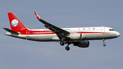 A picture of B8685 - Airbus A320214 - Sichuan Airlines - © wangpaul