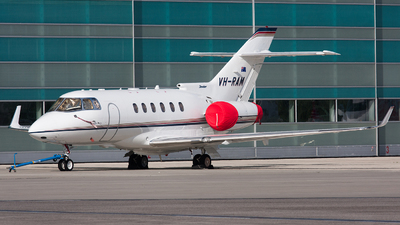 VH-RAM - Raytheon Hawker 850XP - Private