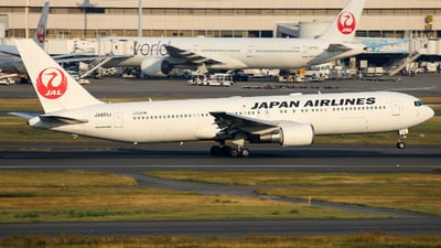 JA601J - Boeing 767-346(ER) - Japan Airlines (JAL)
