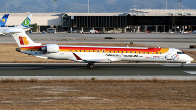 EC-JZT - Bombardier CRJ-900ER - Iberia Regional (Air Nostrum)