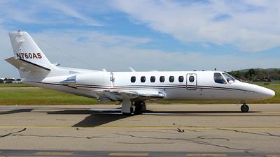 N760AS - Cessna 560 Citation Encore - Private