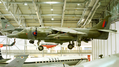 XZ133 - Hawker Siddeley Harrier GR.3 - United Kingdom - Royal Air Force (RAF)