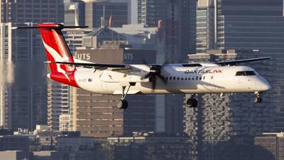 A picture of VHQOF - De Havilland Canada Dash 8400 - QantasLink - © MQ1131