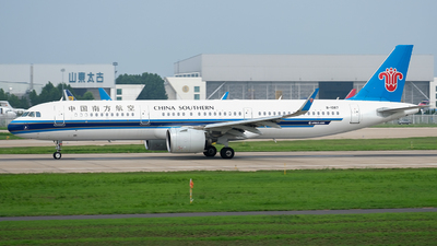 A picture of B1087 - Airbus A321271N - China Southern Airlines - © JerryLiuX.C