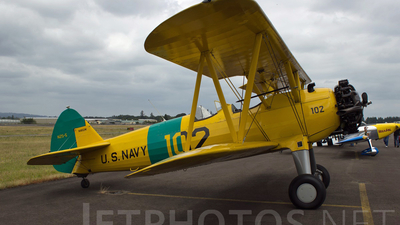 N1852M - Boeing E75 Stearman - Private