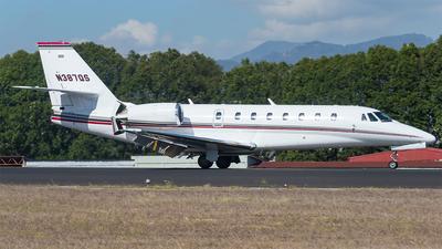 N387QS - Cessna 680 Citation Sovereign - NetJets Aviation