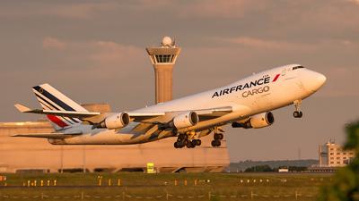 F-GIUA - Boeing 747-428ERF - Air France Cargo
