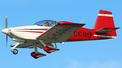 G-CCGU - Vans RV-9A - Private