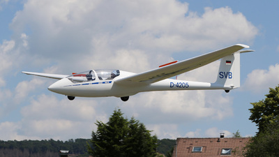 D-4205 - Schleicher ASK-21 - Private
