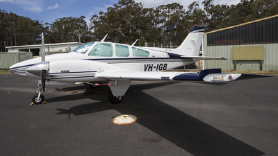 VH-IGB - Beechcraft 95-B55 Baron - Private
