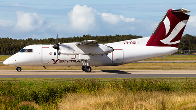 A picture of VHQQI - De Havilland Canada Dash 8100 - Skytrans - © Brandon Giacomin
