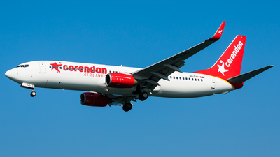 A picture of 9HTJD - Boeing 73784P - Corendon Airlines - © Martin Rogosz