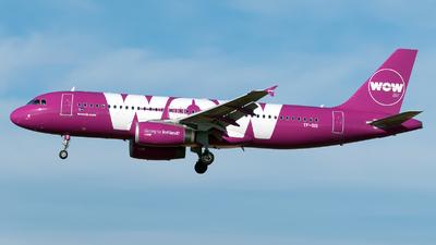 TF-SIS - Airbus A320-232 - WOW Air