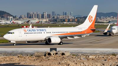B-7373 - Boeing 737-86N - OK Air