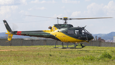 PP-IEF - Helibrás AS-350B2 Esquilo - Brazil - Military Police