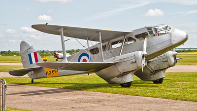G-AIYR - De Havilland DH-89A Dragon Rapide - Private