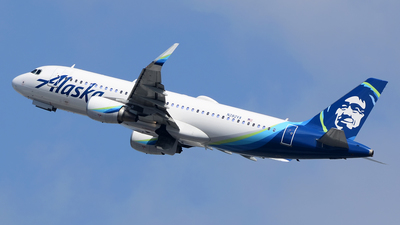 A picture of N282VA - Airbus A320214 - Alaska Airlines - © Stefan Alexandru