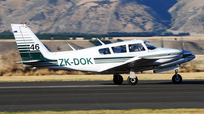 ZK-DOK - Piper PA-30-160 Twin Comanche B - Private