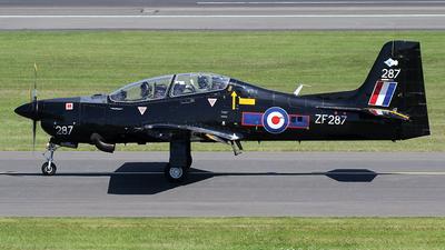 ZF287 - Short Tucano T.1 - United Kingdom - Royal Air Force (RAF)