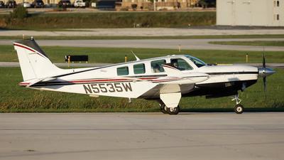 N5535W - Beechcraft A36 Jet-Prop Bonanza - Private
