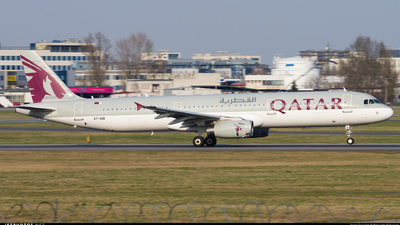 A7-AIB - Airbus A321-231 - Qatar Airways