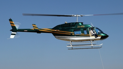 ZS-HDX - Bell 206L-1 LongRanger - Private