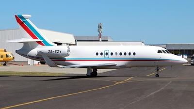 ZS-EZY - Dassault Falcon 2000S - Private