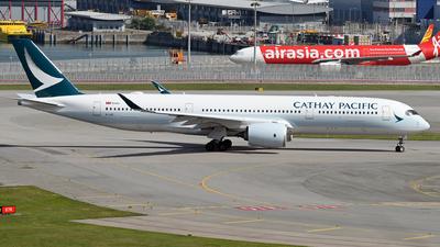 B-LQC - Airbus A350-941 - Cathay Pacific Airways