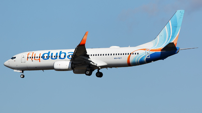 A picture of A6FET - Boeing 7378KN - FlyDubai - © Dejan Milinkovic