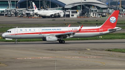 A picture of B1890 - Airbus A321231 - Sichuan Airlines - © Fang HaoHui