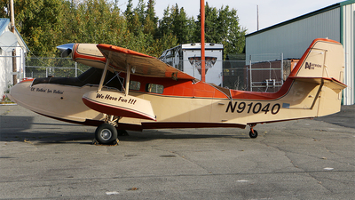 N91040 - Grumman G-44 Widgeon - Private