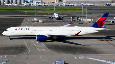N514DN - Airbus A350-941 - Delta Air Lines