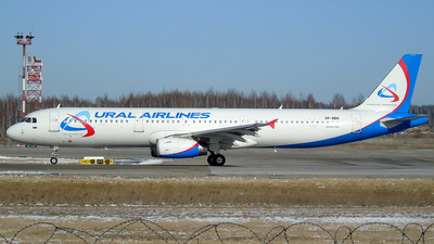 A picture of VPBBH - Airbus A321231 - Ural Airlines - © Timofey Panteleev