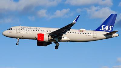A picture of SEROD - Airbus A320251N - SAS - © Laszlo Fekete