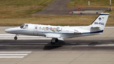 9H-PAL - Cessna 550B Citation Bravo - Private