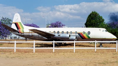- Vickers Viscount 816 - Air Zimbabwe