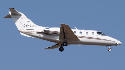 OM-ZUB - Beechcraft 400A Beechjet - Tatra Jet