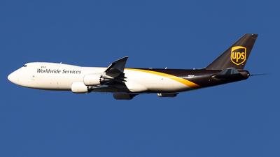 N607UP - Boeing 747-84AF - United Parcel Service (UPS)