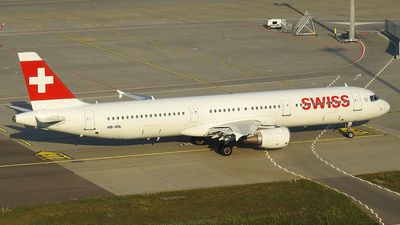 A picture of HBIOL - Airbus A321111 - Swiss - © Alessandro Berti