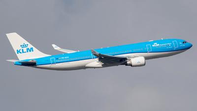PH-AOA - Airbus A330-203 - KLM Royal Dutch Airlines