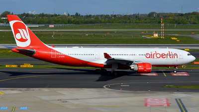 D-ALPG - Airbus A330-223 - Air Berlin