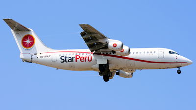 OB-1914-P - British Aerospace BAe 146-300 - Star Perú