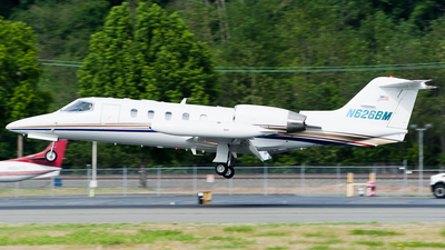 N626BM - Gates Learjet 35A - Private