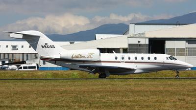 A picture of N941QS - Cessna 750 Citation X - NetJets - © Jorge andres solano sancho