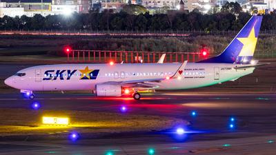 A picture of JA73NN - Boeing 73781D - Skymark Airlines - © Yukio023